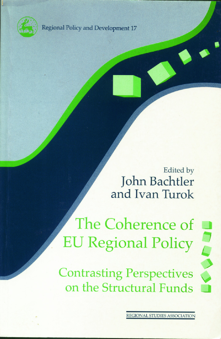 The Coherence of EU Regional Policy: Contrasting Perspectives on the Structural Funds, 1st Edition (Paperback) book cover