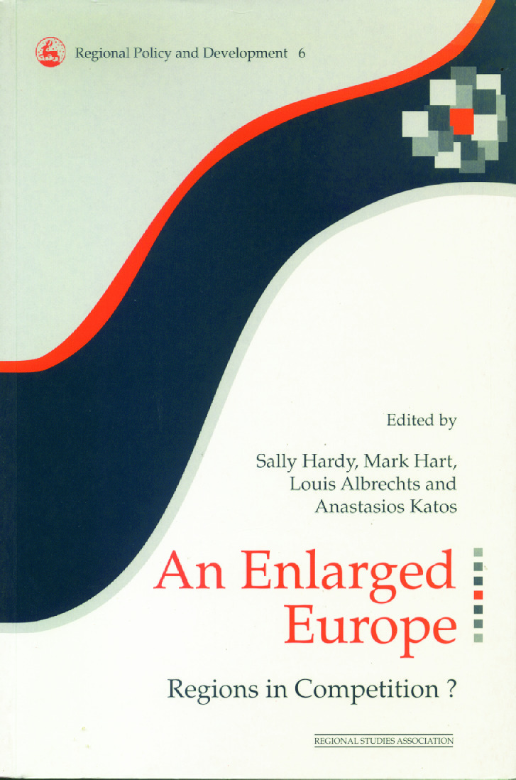 An Enlarged Europe: Regions in Competition?, 1st Edition (Paperback) book cover