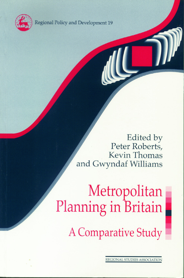 Metropolitan Planning in Britain: A Comparative Study (Paperback) book cover