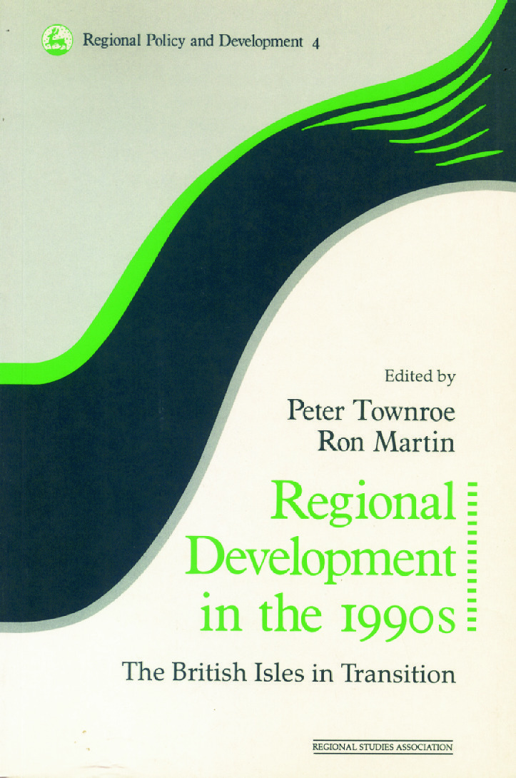 Regional Development in the 1990s: The British Isles in Transition (Paperback) book cover