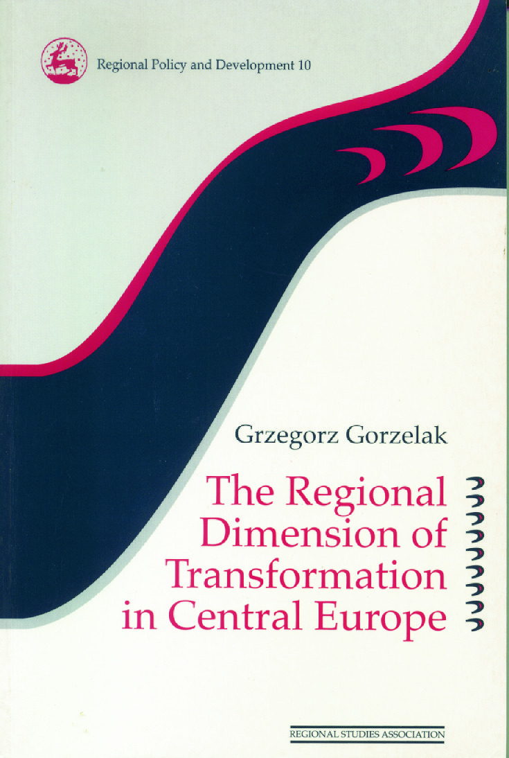 The Regional Dimension of Transformation in Central Europe (Paperback) book cover