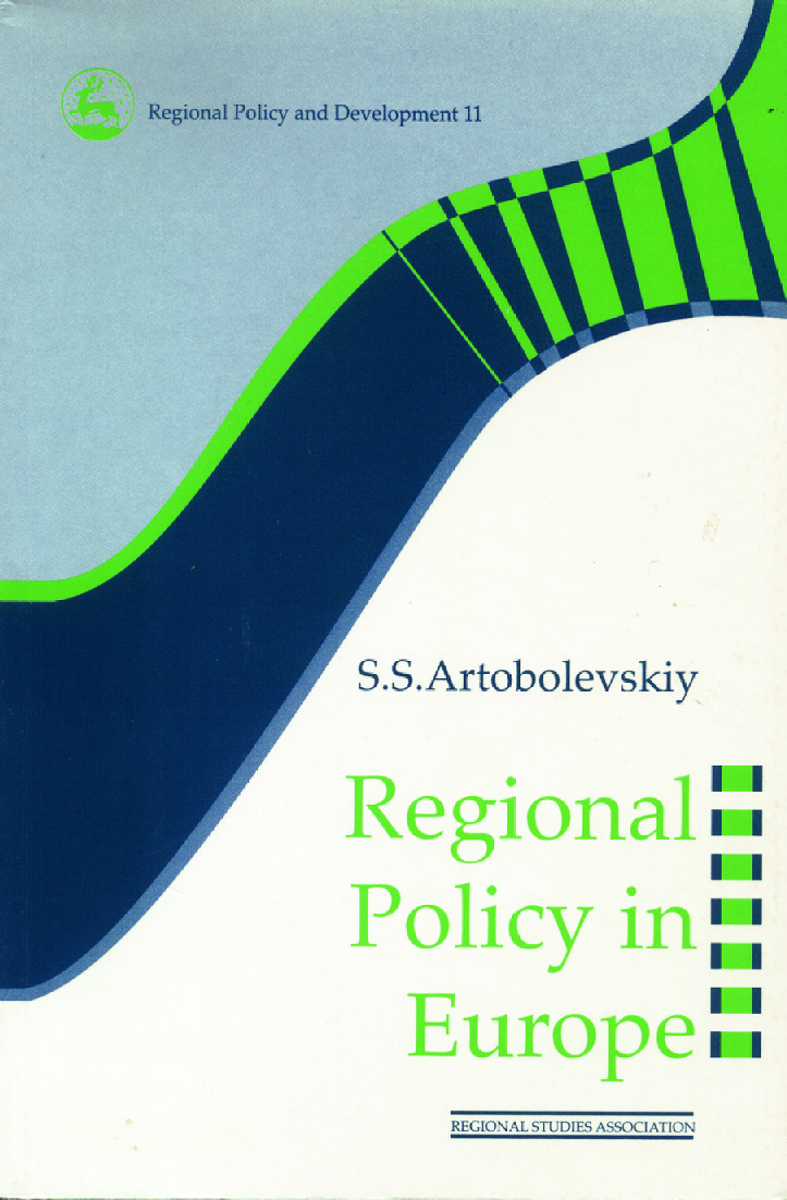 Regional Policy in Europe: 1st Edition (Paperback) book cover