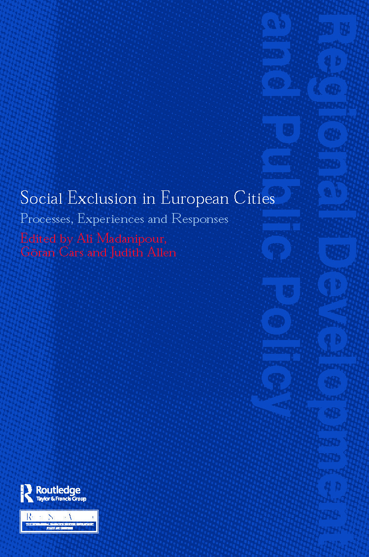 Social Exclusion in European Cities: Processes, Experiences and Responses (Paperback) book cover