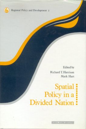 Spatial Policy in a Divided Nation: 1st Edition (Hardback) book cover