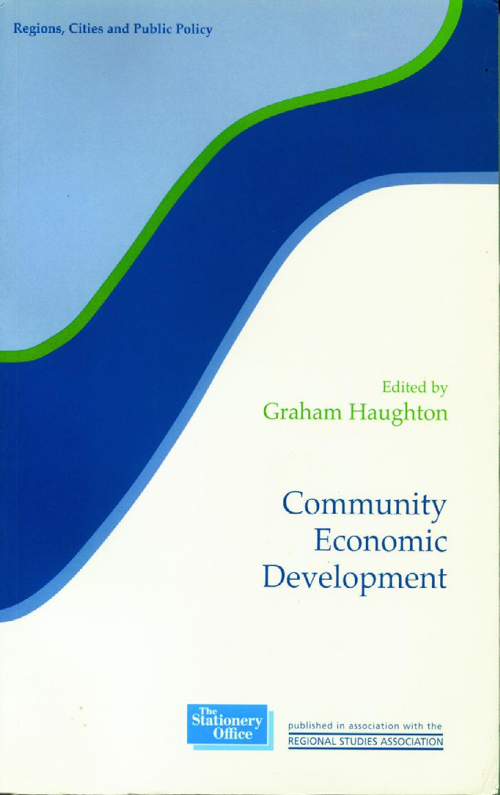 Community Economic Development (Paperback) book cover