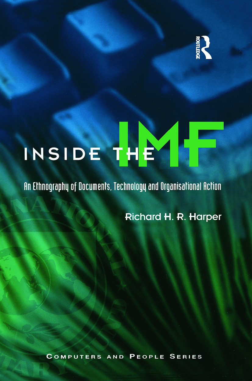 Inside the IMF (Hardback) book cover