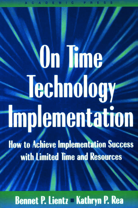 On Time Technology Implementation (Paperback) book cover