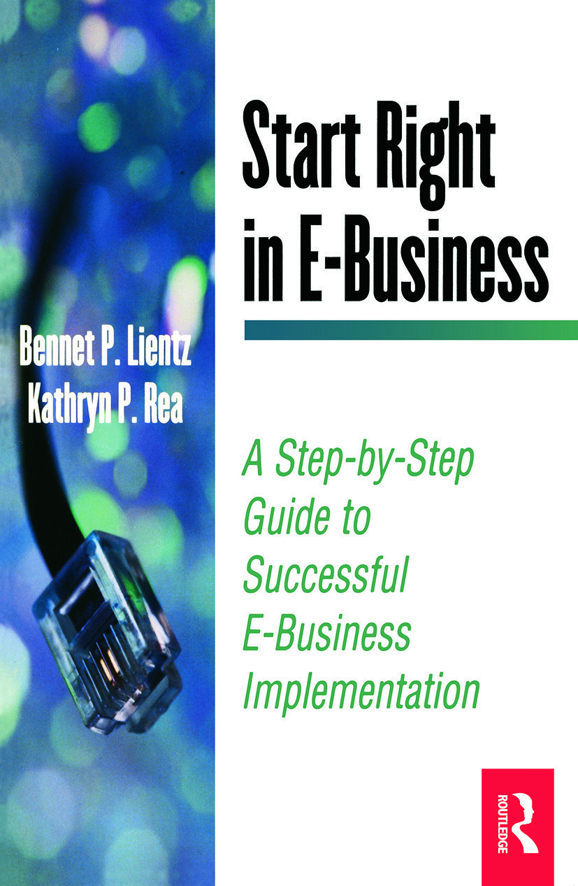 Start Right in E-Business: 1st Edition (Paperback) book cover