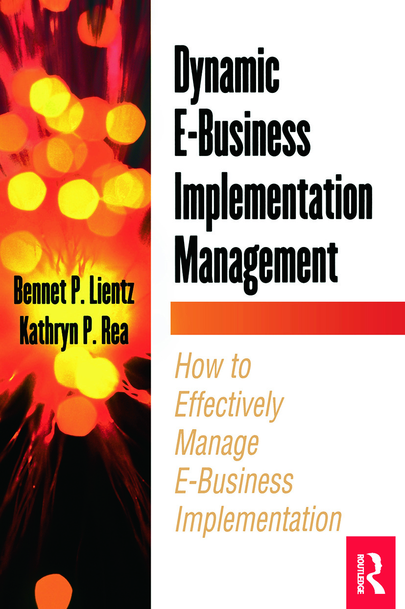 Dynamic E-Business Implementation Management: 1st Edition (Paperback) book cover