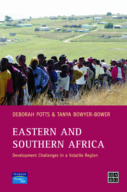 Eastern and Southern Africa: Development Challenges in a volatile region, 1st Edition (Paperback) book cover
