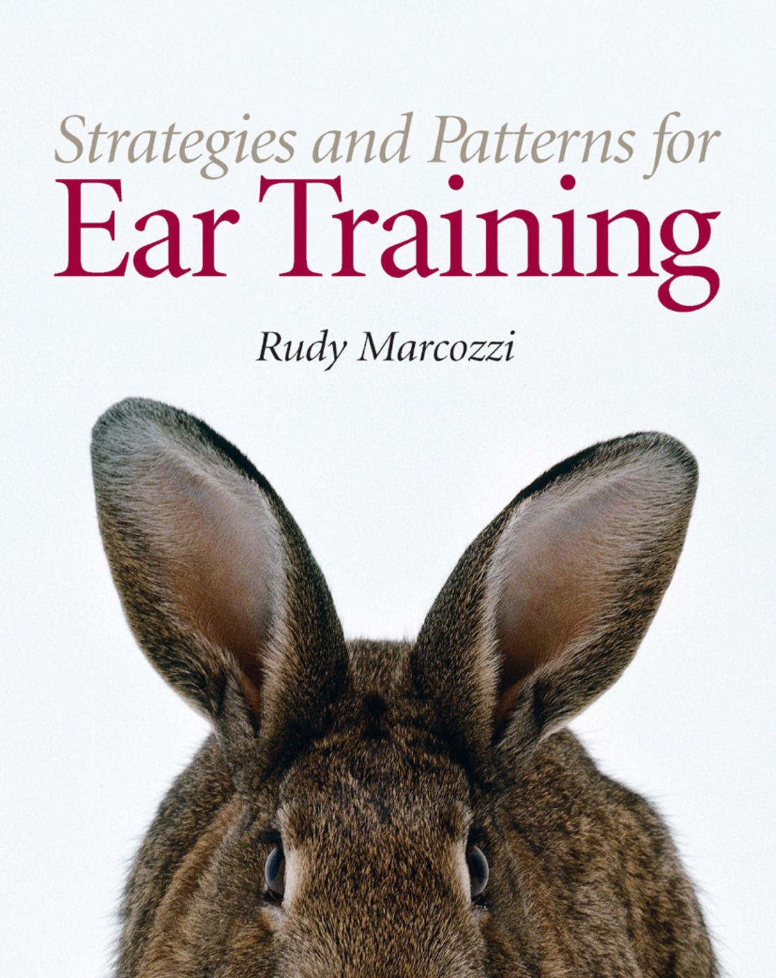 Strategies and Patterns for Ear Training: 1st Edition (Paperback) book cover