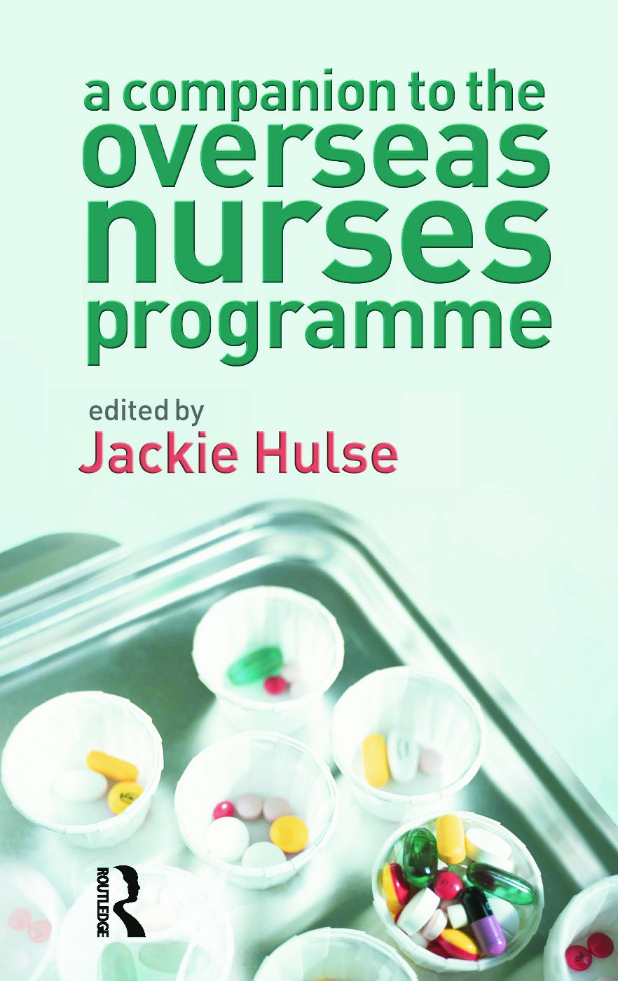 A Companion to the Overseas Nurses Programme: 1st Edition (Paperback) book cover