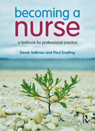Becoming a Nurse: a textbook for professional practice (Paperback) book cover