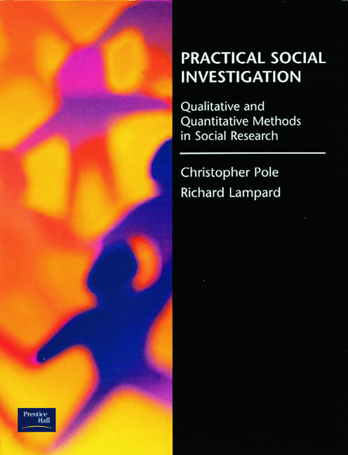 Practical Social Investigation: Qualitative and Quantitative Methods in Social Research, 1st Edition (Paperback) book cover