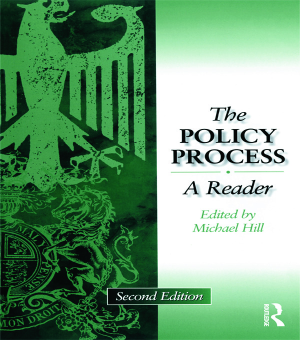 Policy Process: A Reader, 2nd Edition (Paperback) book cover