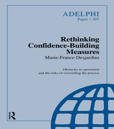 Rethinking Confidence-Building Measures: 1st Edition (Paperback) book cover