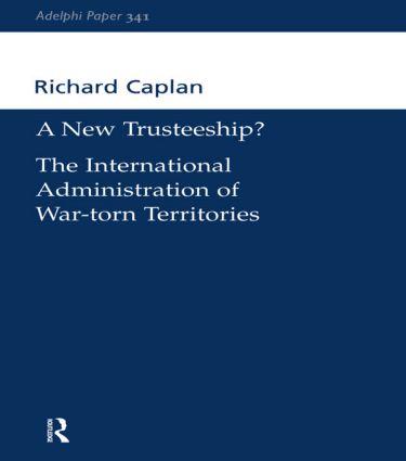 A New Trusteeship?