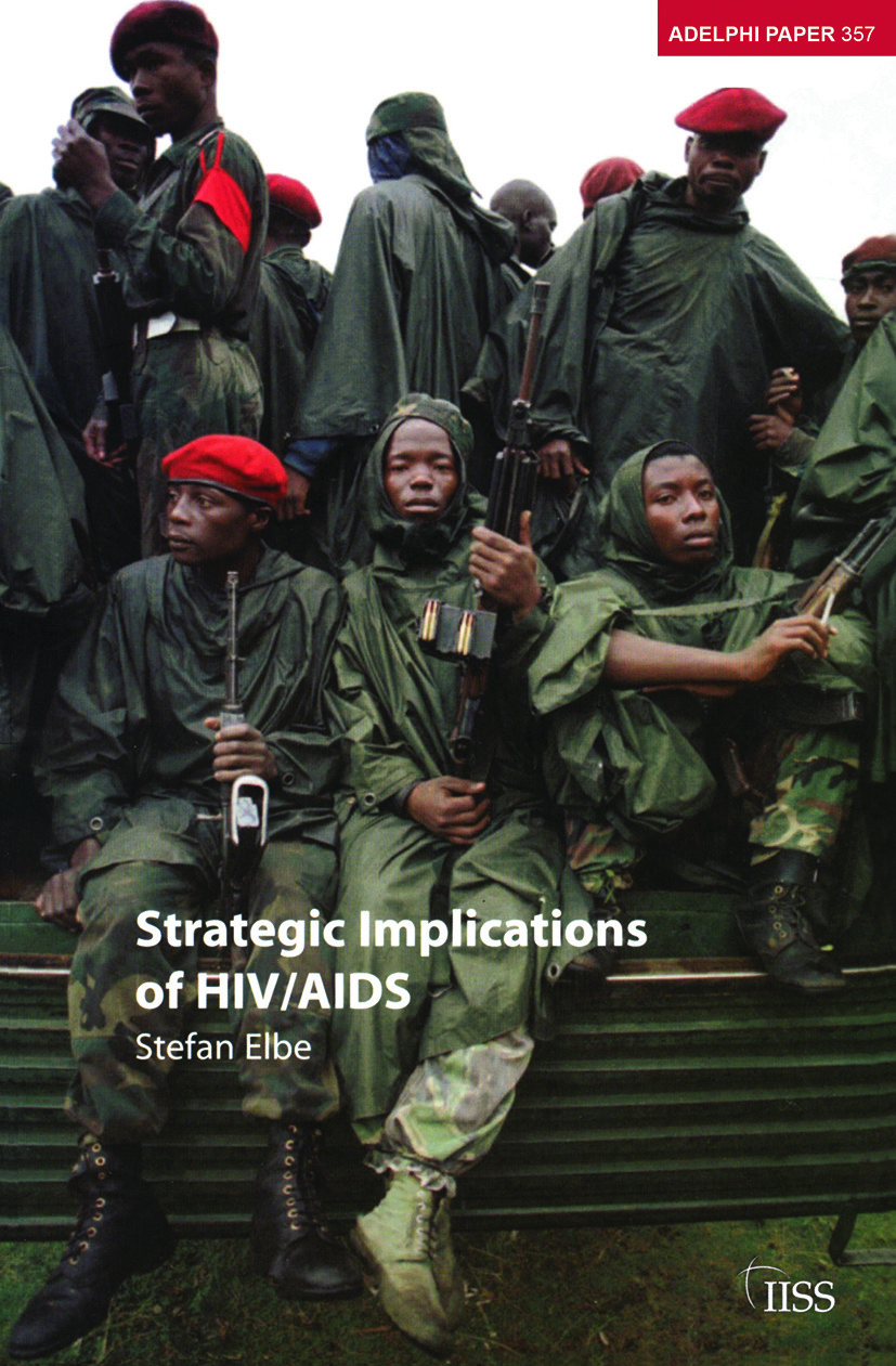 Strategic Implications of HIV/AIDS: 1st Edition (Paperback) book cover