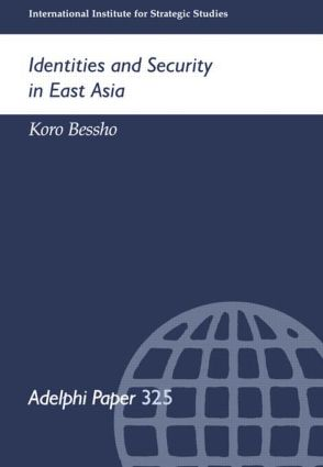Identities and Security in East Asia: 1st Edition (Paperback) book cover