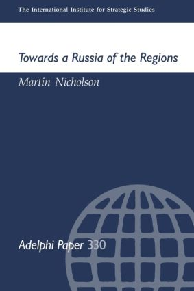 Towards a Russia of the Regions: 1st Edition (Paperback) book cover
