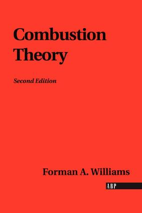 Combustion Theory: 2nd Edition (Paperback) book cover