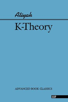 K-theory: 1st Edition (Paperback) book cover