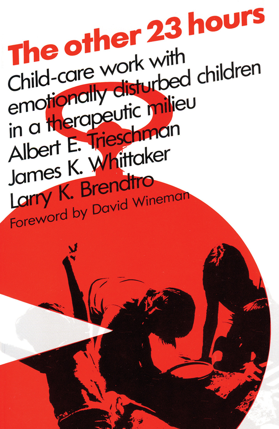 The Other 23 Hours: Child Care Work with Emotionally Disturbed Children in a Therapeutic Milieu, 1st Edition (Paperback) book cover