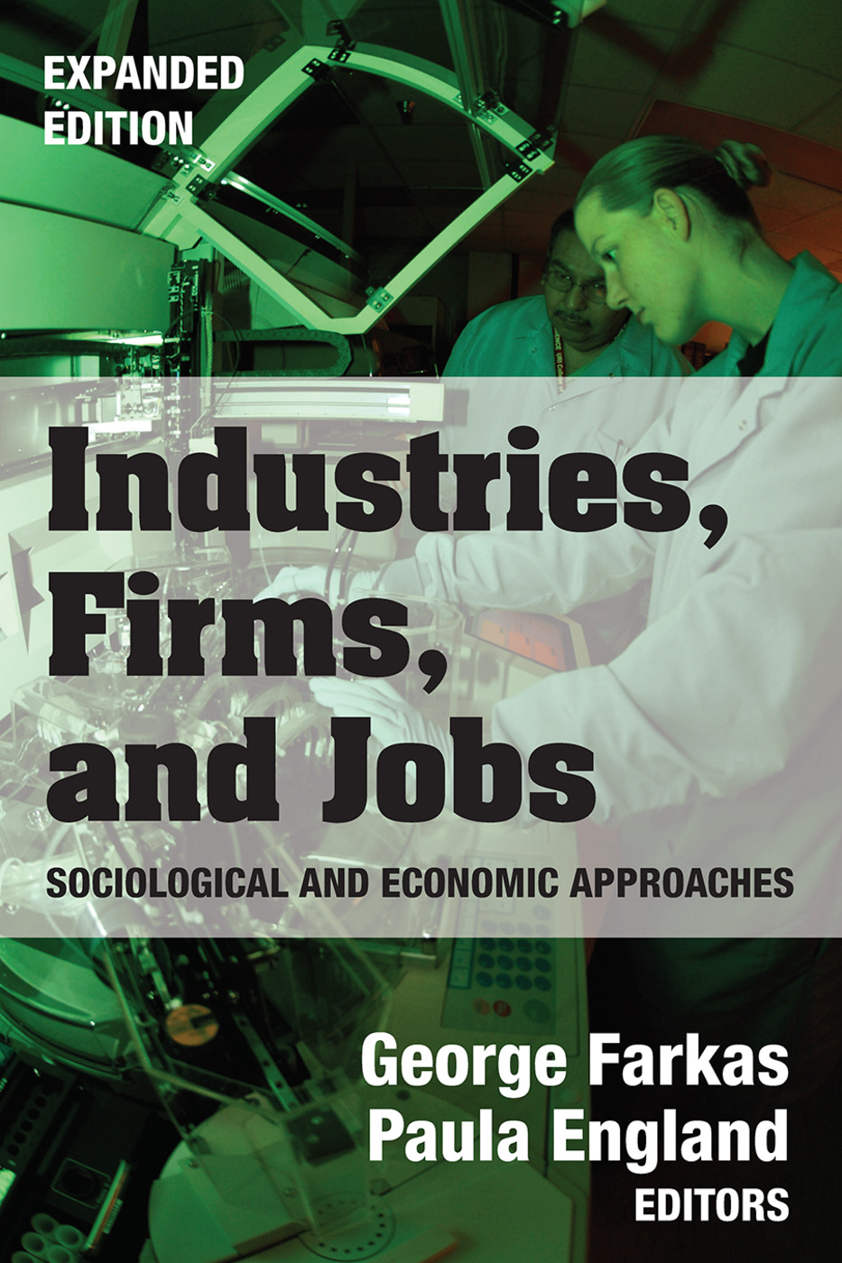 Industries, Firms, and Jobs: 1st Edition (Paperback) book cover