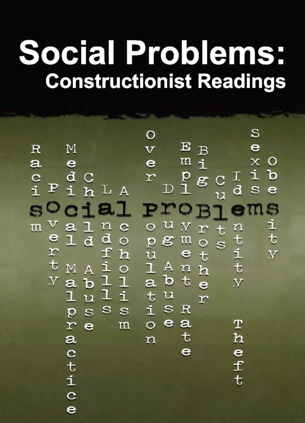 Social Problems: Constructionist Readings, 1st Edition (Paperback) book cover