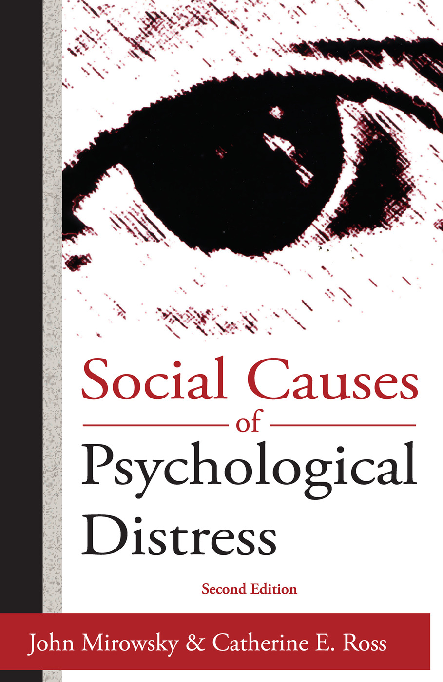 Social Causes of Psychological Distress: 2nd Edition (Paperback) book cover