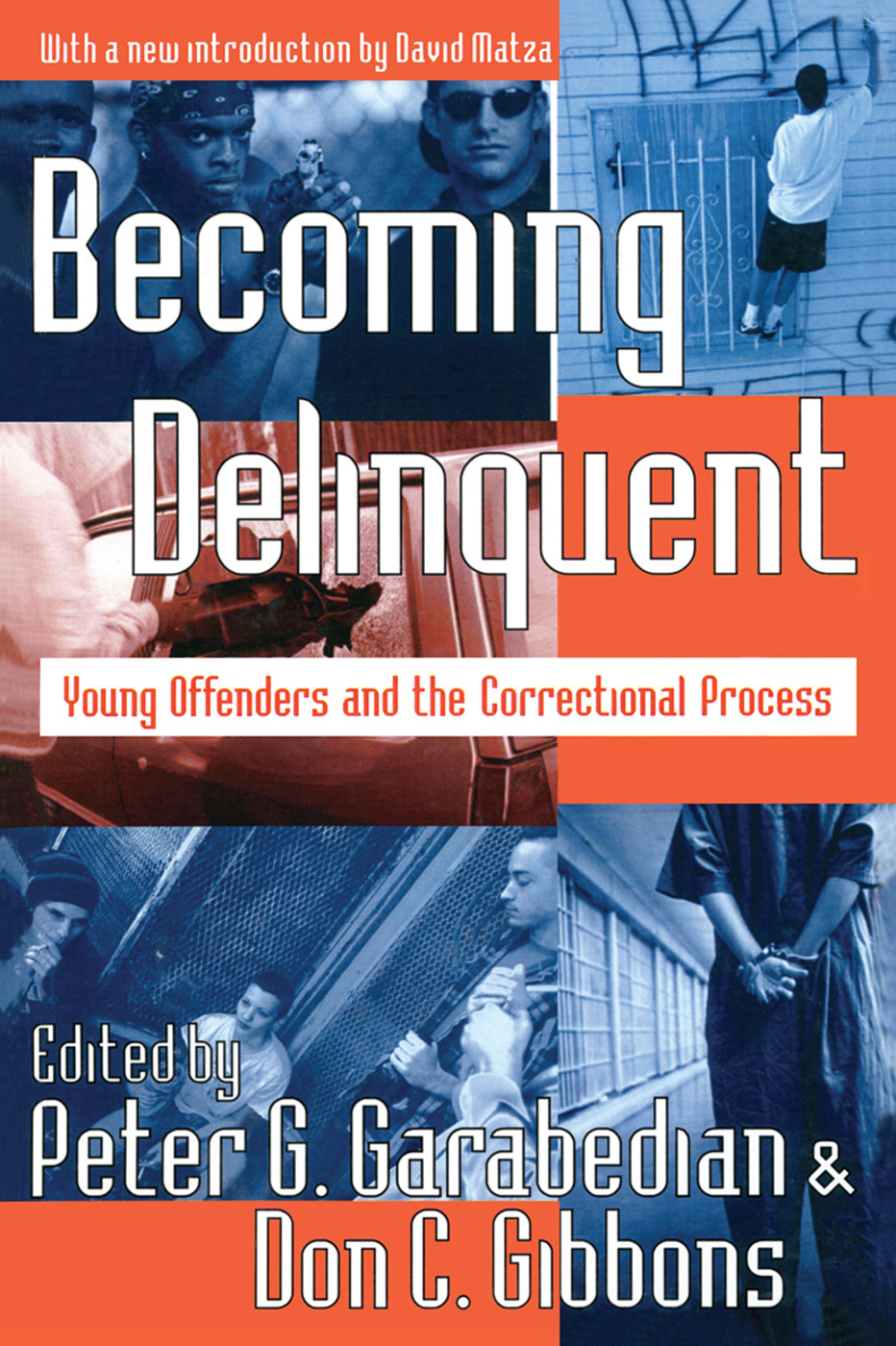 Becoming Delinquent: Young Offenders and the Correctional Process, 1st Edition (Paperback) book cover
