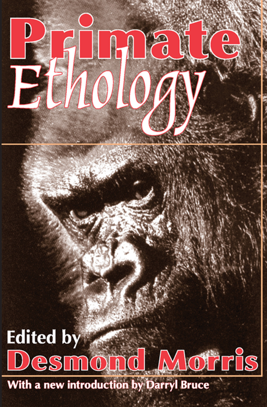 Primate Ethology: 1st Edition (Paperback) book cover