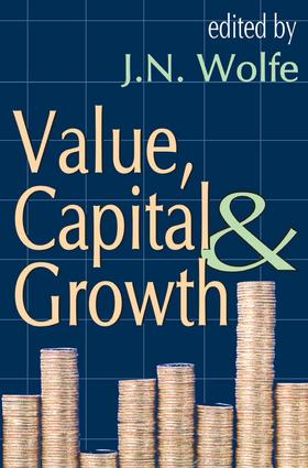 Value, Capital and Growth: 1st Edition (Paperback) book cover