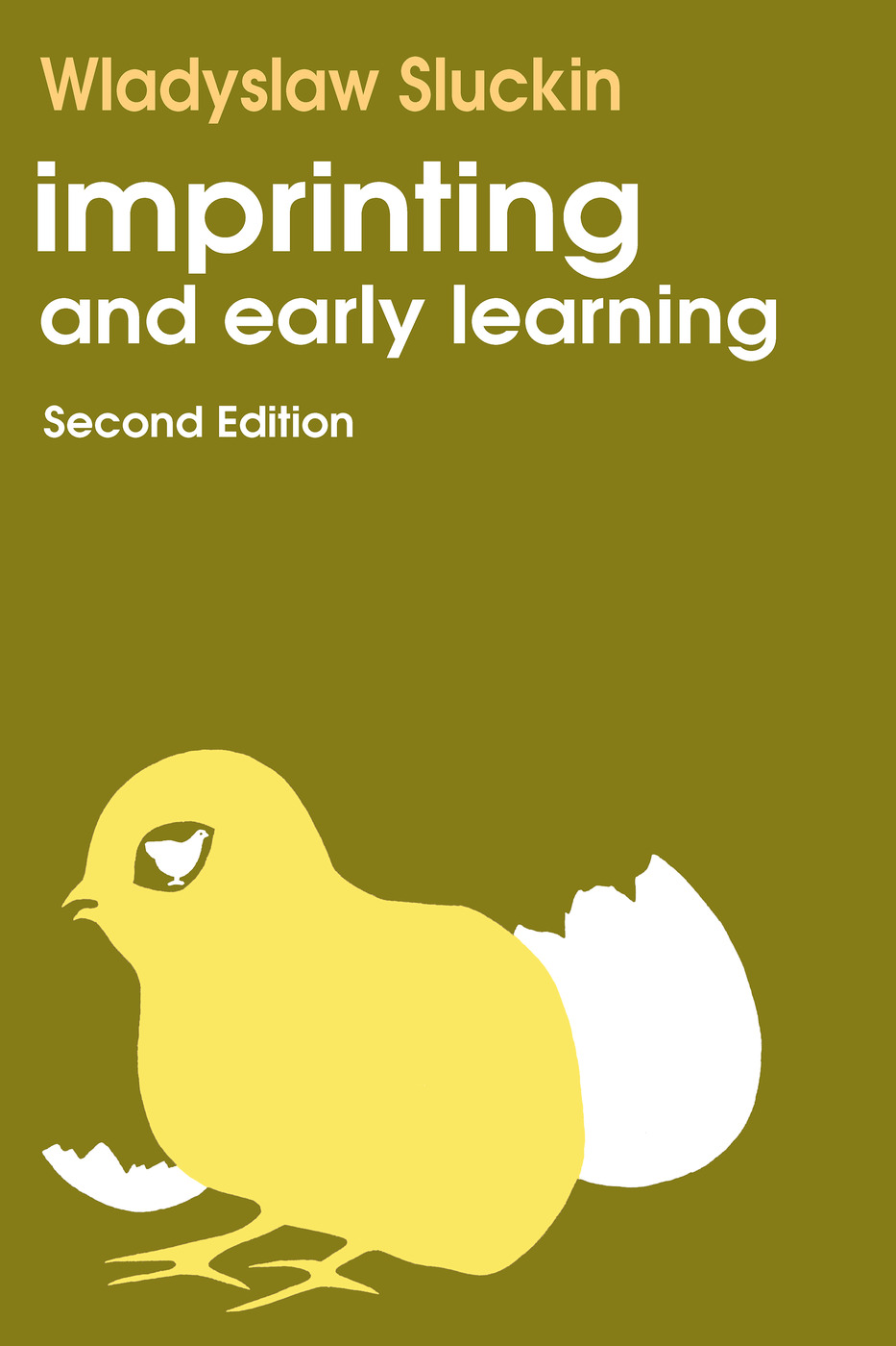 Imprinting and Early Learning: 2nd Edition (Paperback) book cover