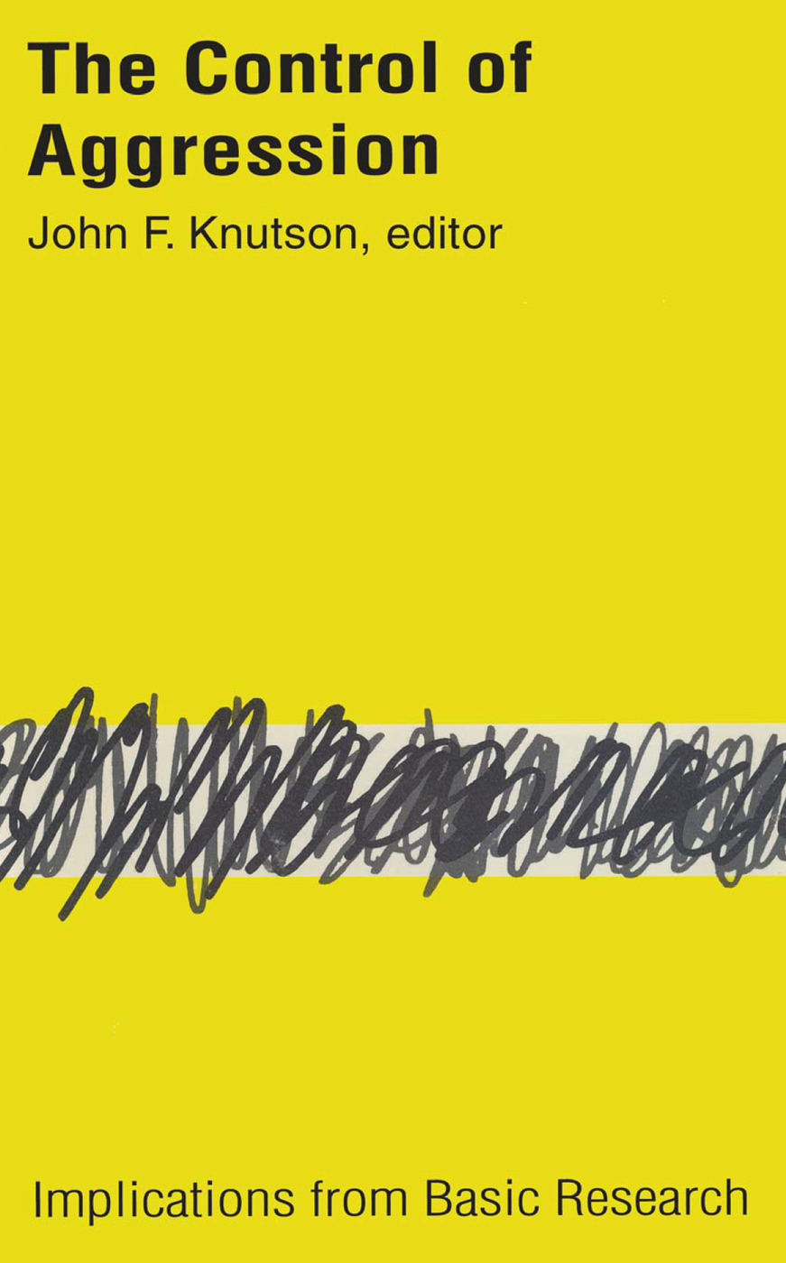 Control of Aggression: Implications from Basic Research, 1st Edition (Paperback) book cover