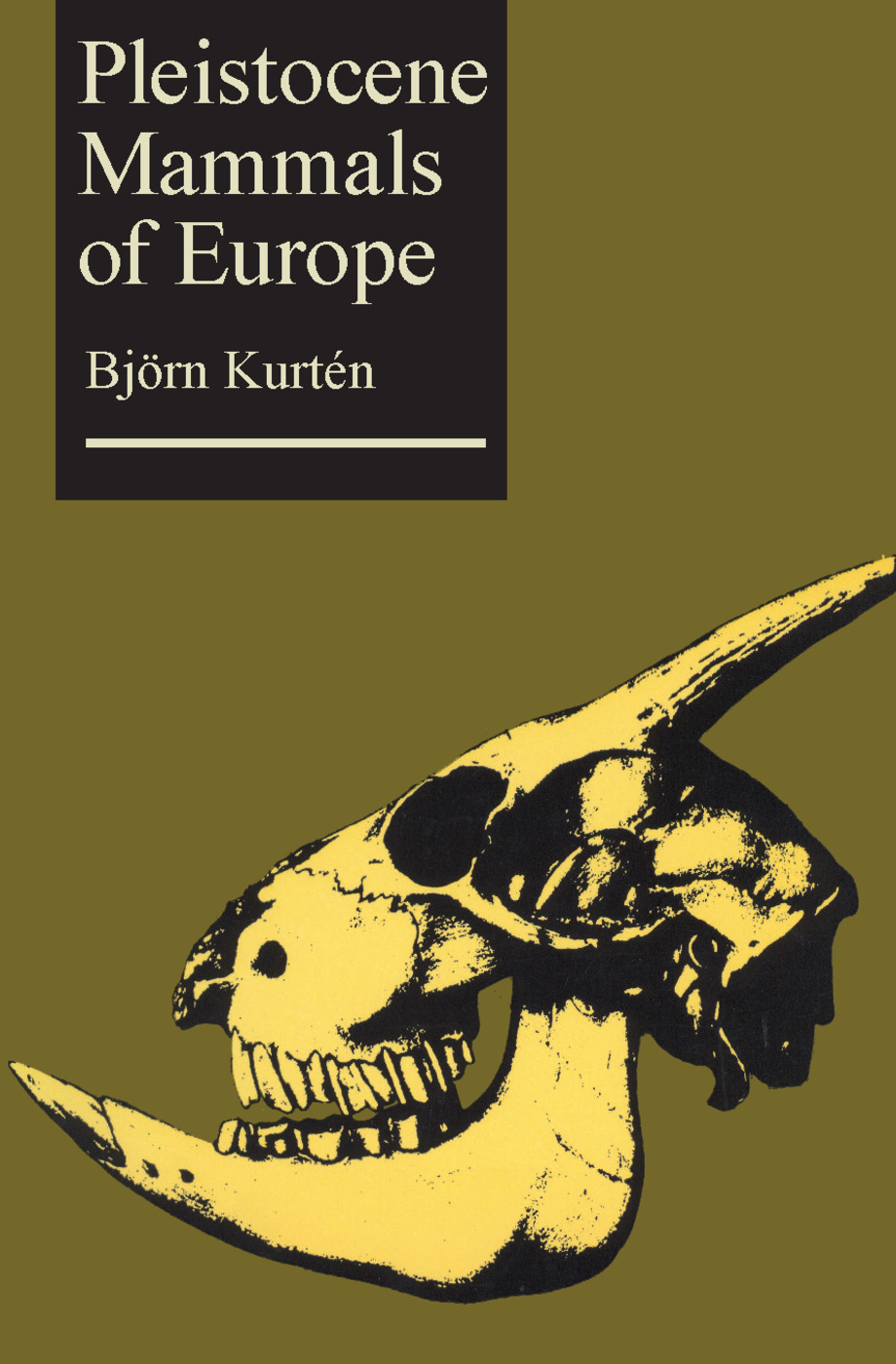 Pleistocene Mammals of Europe: 1st Edition (Paperback) book cover