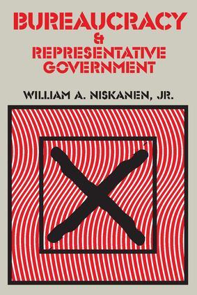 Bureaucracy and Representative Government: 1st Edition (Paperback) book cover