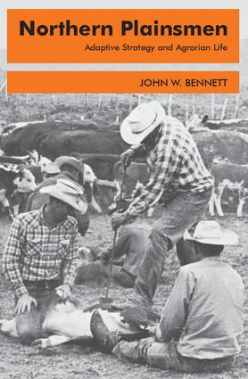 Northern Plainsmen: Adaptive Strategy and Agrarian Life, 1st Edition (Paperback) book cover