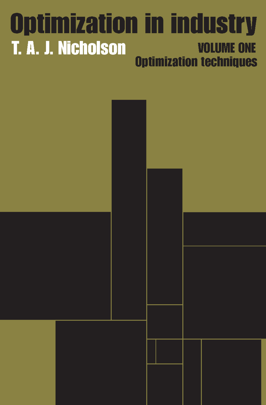 Optimization in Industry: Volume 1, Optimization Techniques, 1st Edition (Paperback) book cover