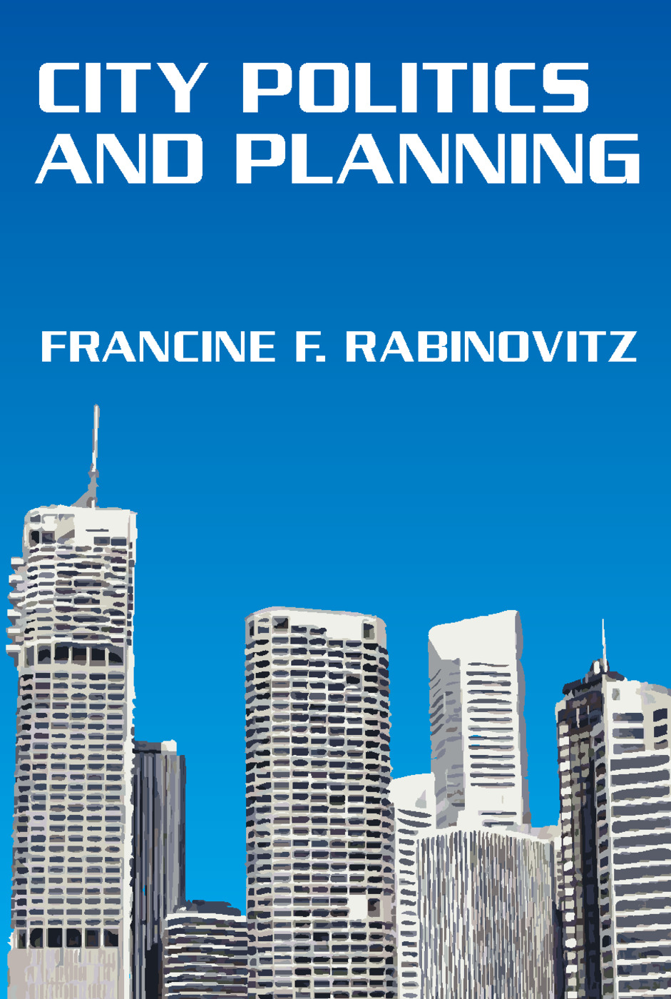 City Politics and Planning: 1st Edition (Paperback) book cover