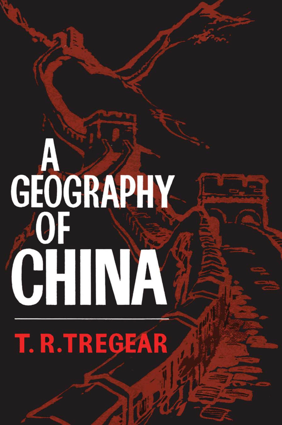 A Geography of China: 1st Edition (Paperback) book cover