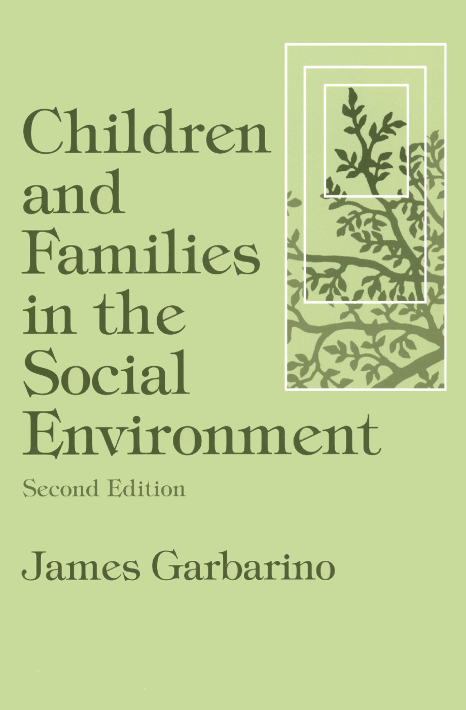 Children and Families in the Social Environment: Modern Applications of Social Work, 2nd Edition (Paperback) book cover