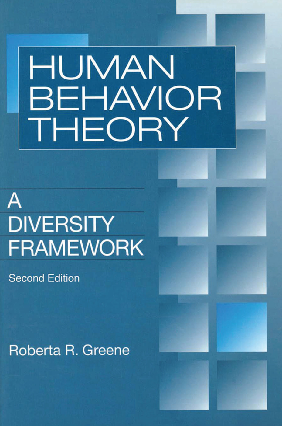 Human Behavior Theory: A Diversity Framework, 1st Edition (Paperback) book cover
