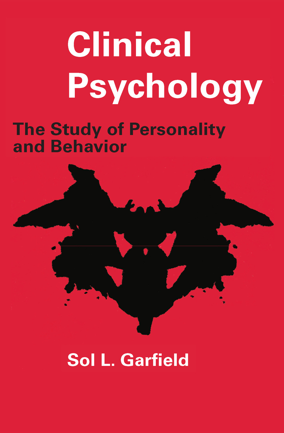 Clinical Psychology: The Study of Personality and Behavior, 1st Edition (Paperback) book cover