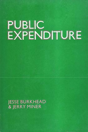 Public Expenditure: 1st Edition (e-Book) book cover