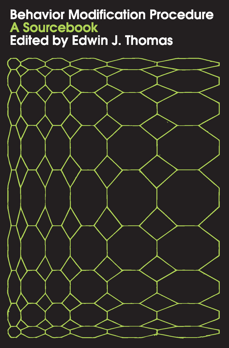 Behavior Modification Procedure: A Sourcebook, 1st Edition (Paperback) book cover