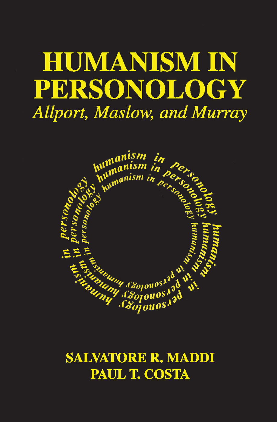 Humanism in Personology: Allport, Maslow, and Murray, 1st Edition (Paperback) book cover