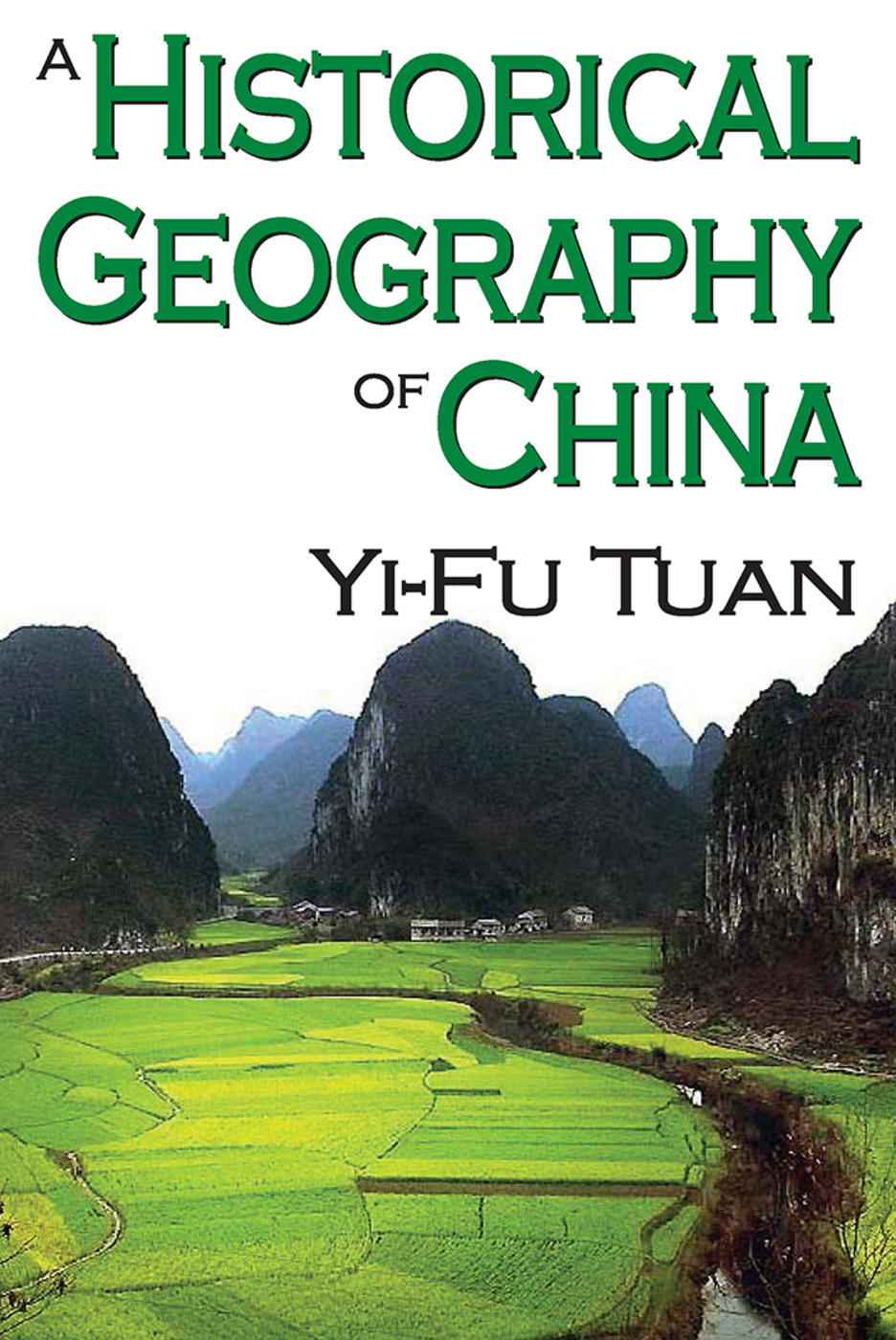A Historical Geography of China: 1st Edition (Paperback) book cover