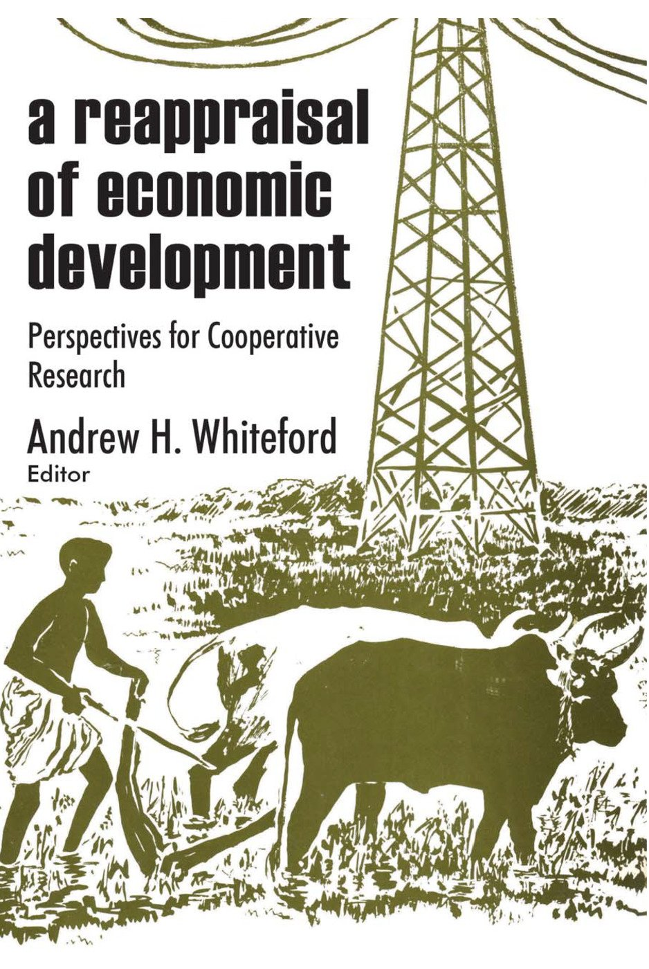 A Reappraisal of Economic Development: Perspectives for Cooperative Research, 1st Edition (Paperback) book cover