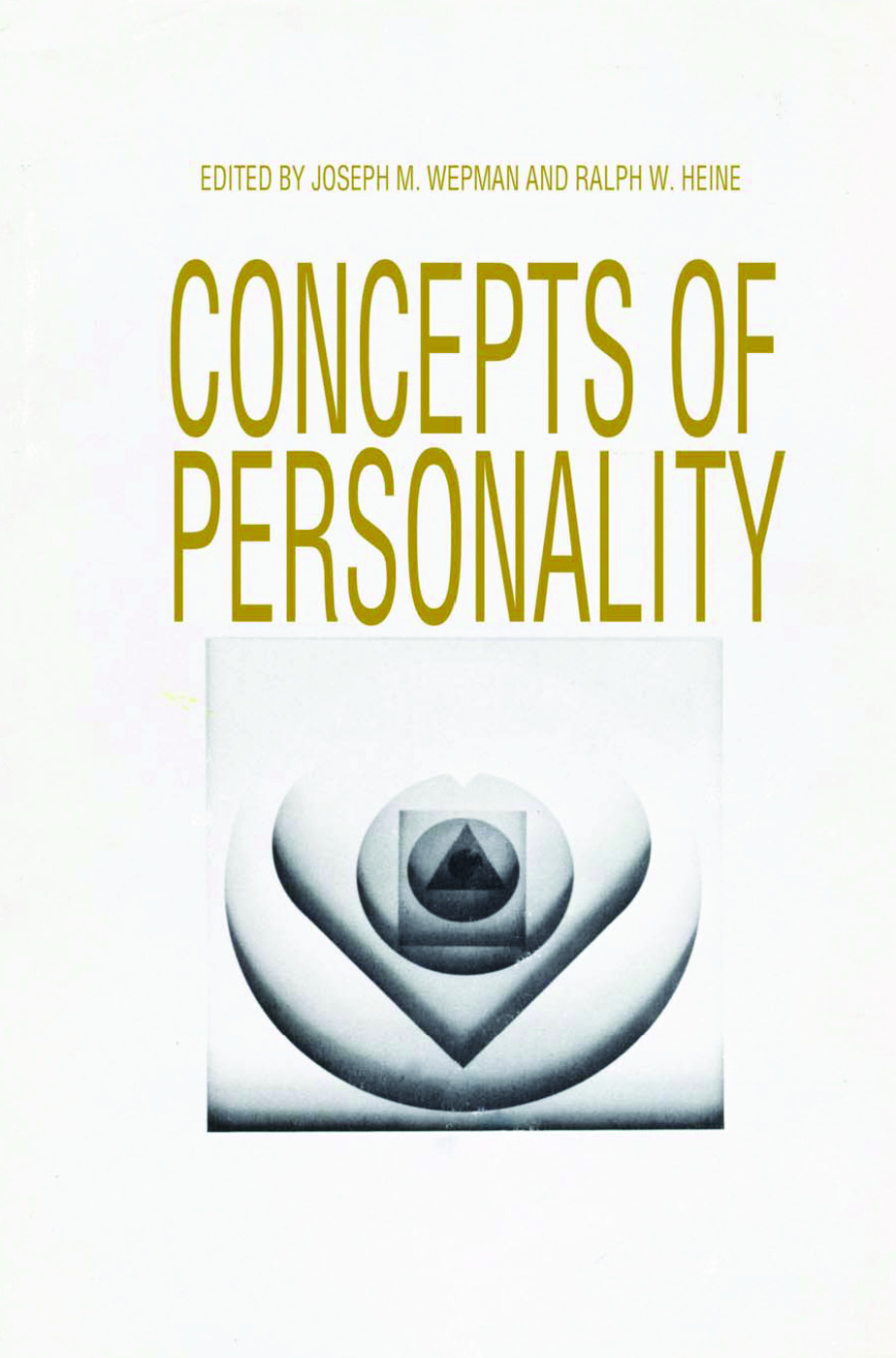 Concepts of Personality: 1st Edition (Paperback) book cover